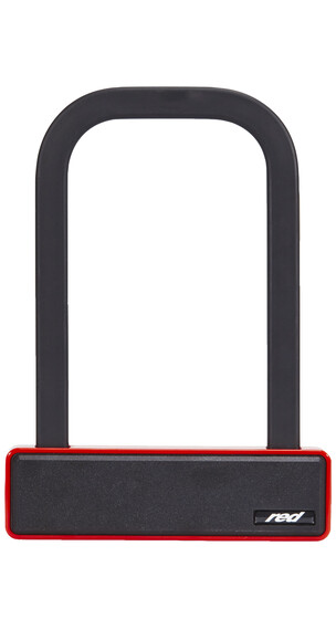 Red Cycling Products Ultimate Light Weight Lock Cykellås rød/sort